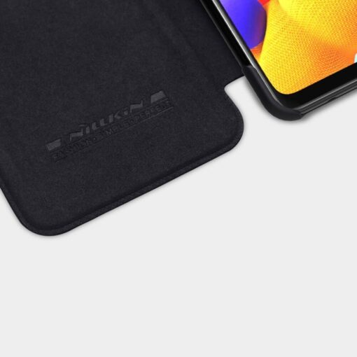 Samsung A21S kaaned nahast kaarditaskuga Nillkin Qin must 4