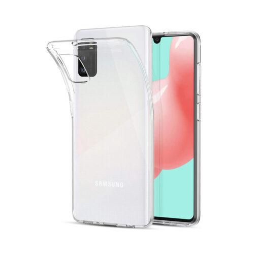 Samsung A51 kaaned silikoonist läbipaistev