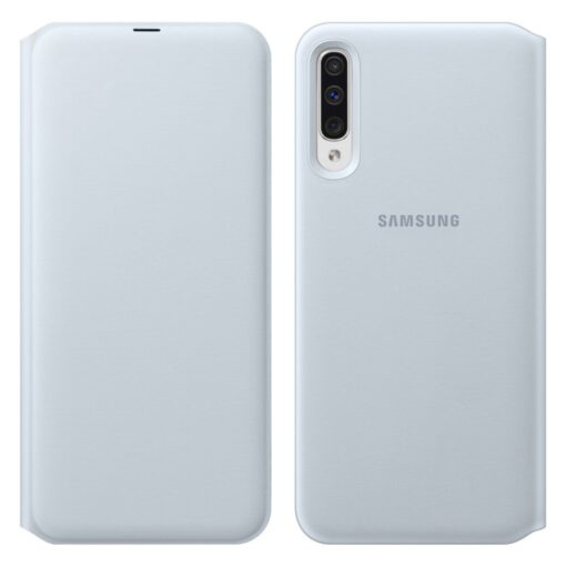 Samsung A50 kaaned valged