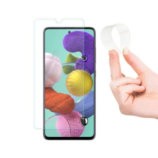 Samsung A51 õhuke kaitseklaas 2