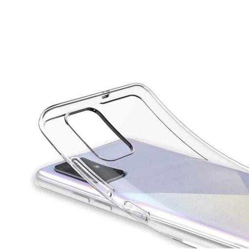 Samsung A51 kaaned silikoonist läbipaistev tagant
