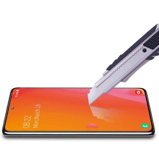 Samsung A51 kaitseklaas täisekraan ekraanikaitse