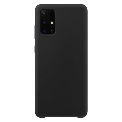 Samsung A51 ümbris silikoonist must