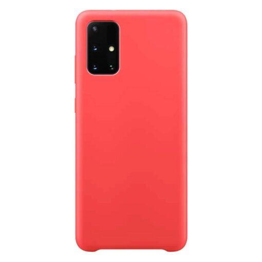 Samsung A51 silikoonist ümbris punane