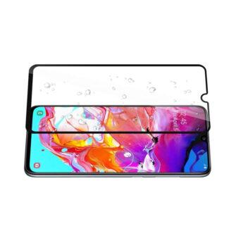 Samsung A70 kaitseklaas täisekraan ekraanikaitse
