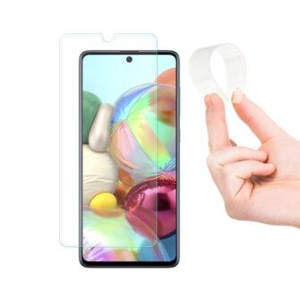 Samsung A71 õhuke kaitseklaas 2