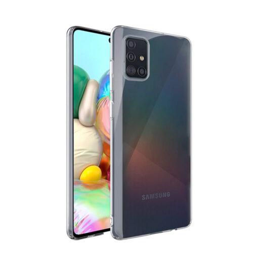 Samsung A71 kaaned silikoonist läbipaistev
