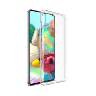 Samsung A71 kaaned silikoonist läbipaistvad
