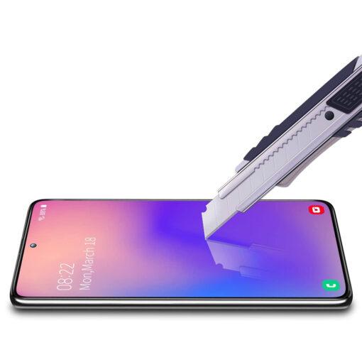 Samsung A71 kaitseklaas täisekraan ekraanikaitse