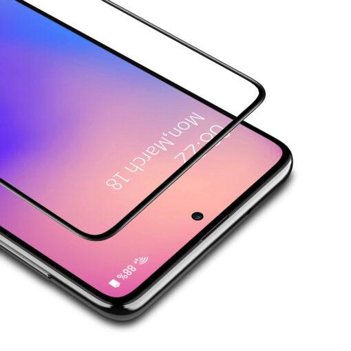 Samsung A71 kaitseklaas täisekraan zoom