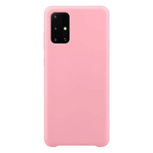 Samsung A71 silikoonist ümbris roosat värvi