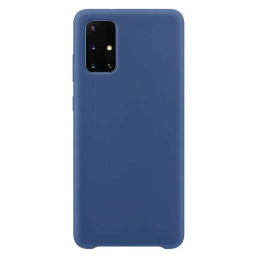 Samsung A71 silikoonist kaaned sinist värvi.