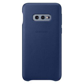 Samsung S10e nahast kaaned sinised EF-VG970LNEGWW