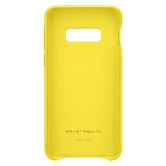 Samsung S10e originaal nahast kaaned kollane EF VG970LYEGWW 3