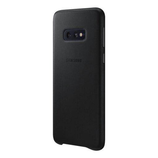 Samsung S10e originaal nahast kaaned must EF VG970LBEGWW 1