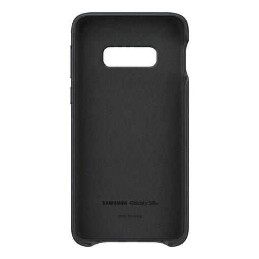 Samsung S10e originaal nahast kaaned must EF VG970LBEGWW 2