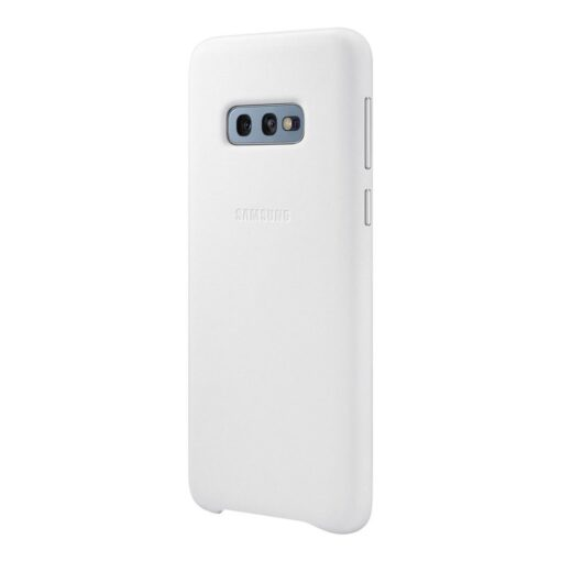 Samsung S10e originaal nahast kaaned valge EF VG970LWEGWW 1