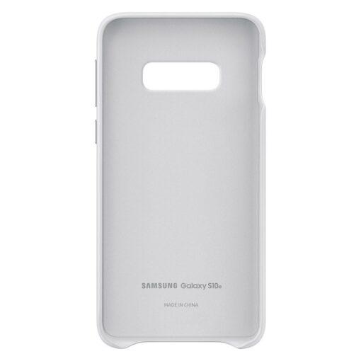 Samsung S10e originaal nahast kaaned valge EF VG970LWEGWW 2