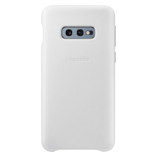 Samsung S10e originaal nahast kaaned valge EF-VG970LWEGWW
