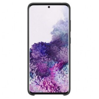 Samsung S20 ümbris silikoonist musta värvi eest