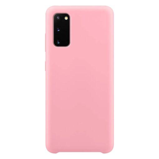 Samsung S20 ümbris roosa silikoonist