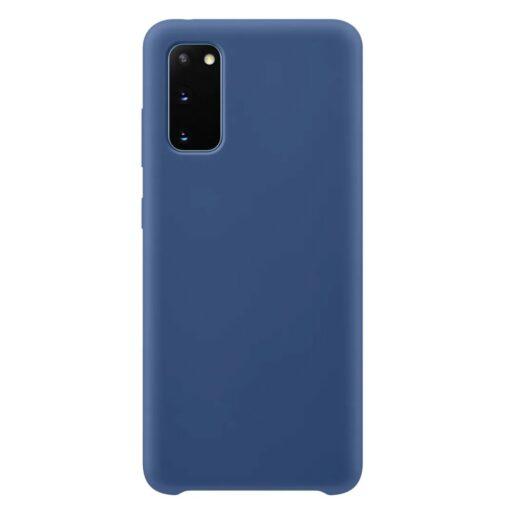 Samsung S20 ümbris silikoonist sininst värvi