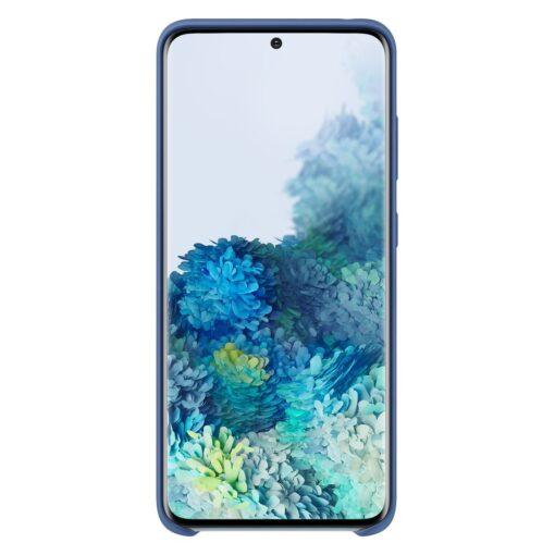 Samsung S20 ümbris silikoonist sininst värvi eest