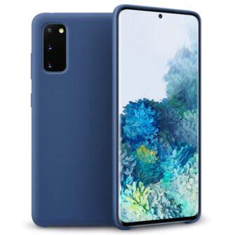 Samsung S20 silikoonist ümbris sinine
