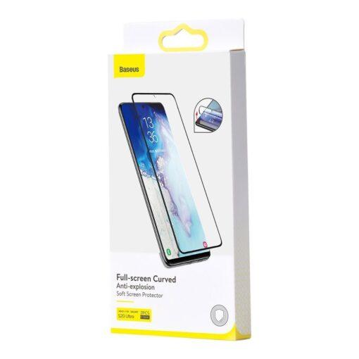 Samsung S20 ULTRA kaitsekile 3D ekraanikaitse Baseus 1