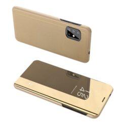 Samsung S20 kaaned clear view kuldne