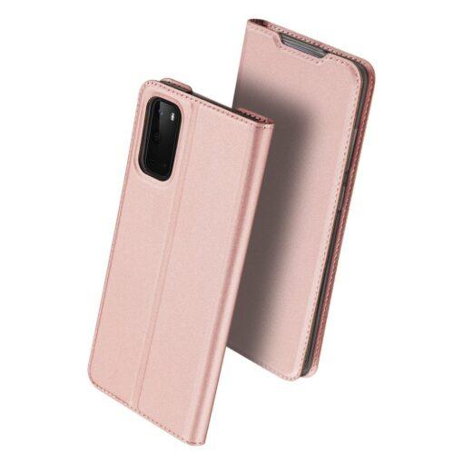 Samsung S20 kaaned kaarditaskuga roosat värvi 2