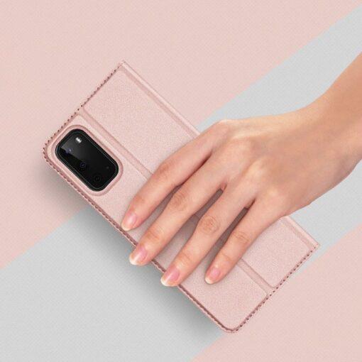 Samsung S20 kaaned kaarditaskuga roosat värvi 8