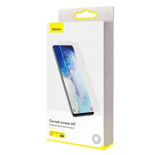 Samsung S20 kaitseklaas Galaxy UV Baseus 8