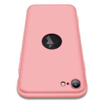eng pl GKK 360 Protection Case Front and Back Case Full Body Cover iPhone SE 2020 pink 61216 2