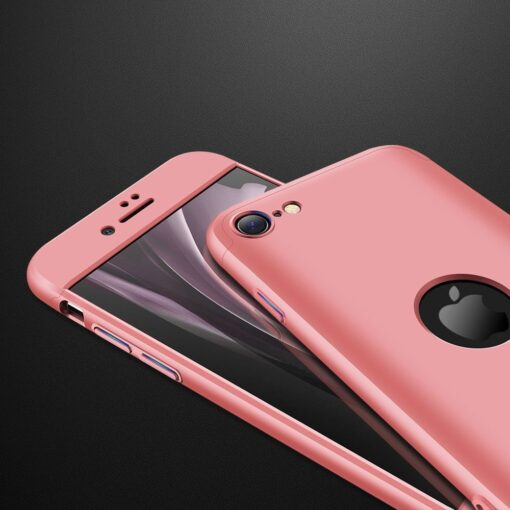 eng pl GKK 360 Protection Case Front and Back Case Full Body Cover iPhone SE 2020 pink 61216 3