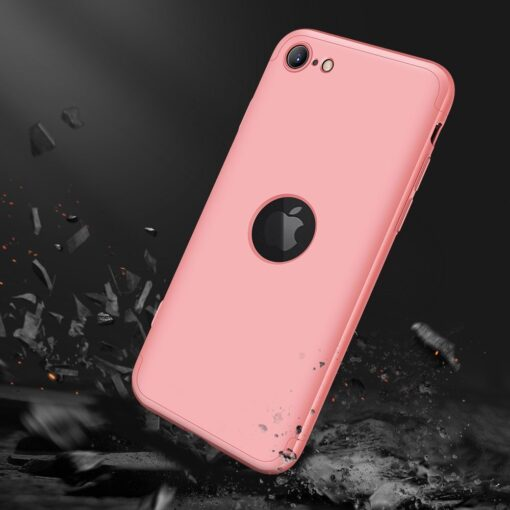 eng pl GKK 360 Protection Case Front and Back Case Full Body Cover iPhone SE 2020 pink 61216 7