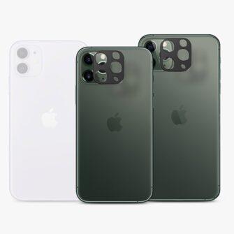 iPhone 11 PRO kaamera kaitse kate must 6