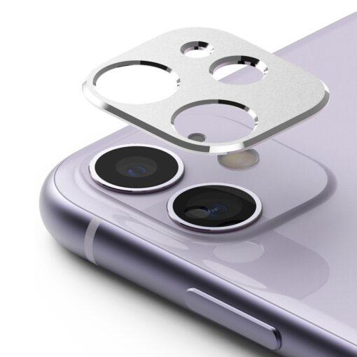 iPhone 11 kaamera kaitse Ringke hõbedane 1