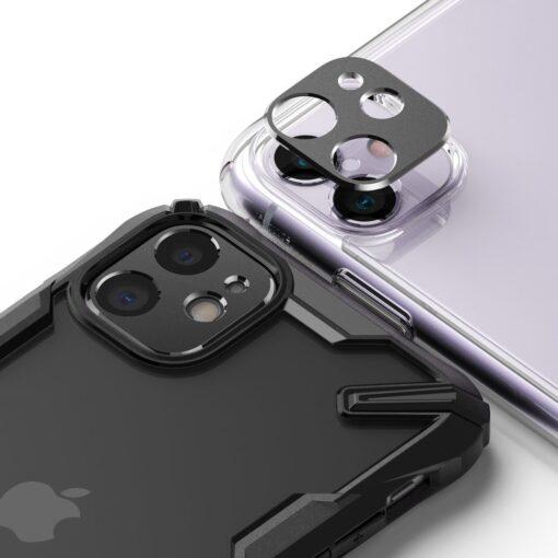 iPhone 11 kaamera kaitse Ringke hõbedane 3