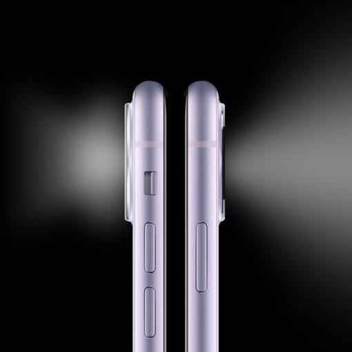 iPhone 11 kaamera kaitse Ringke hõbedane 8
