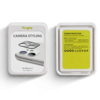 iPhone 11 kaamera kaitse Ringke musta värvi 3