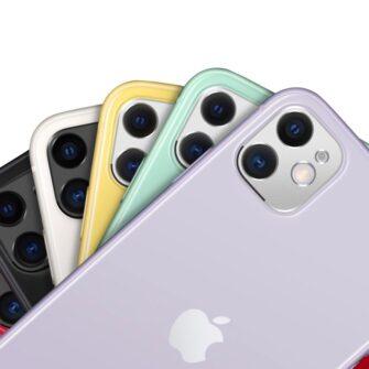 iPhone 11 kaamera kaitse Ringke musta värvi 4