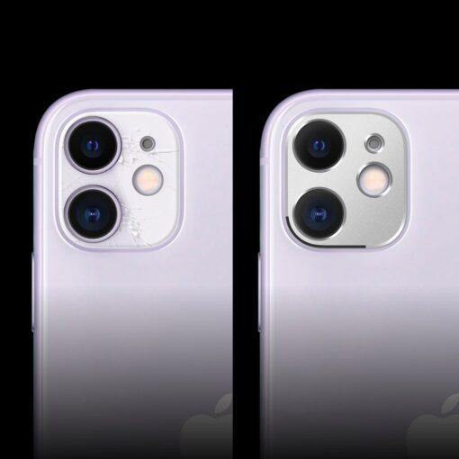 iPhone 11 kaamera kaitse Ringke musta värvi 5