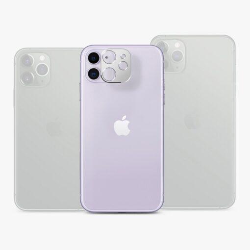 iPhone 11 kaamera kaitse Ringke musta värvi 7