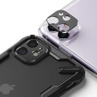 iPhone 11 kaamera kaitse Ringke musta värvi 9