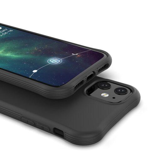 iPhone 11 kaitseümbris silikoonist musta värvi tugev 2