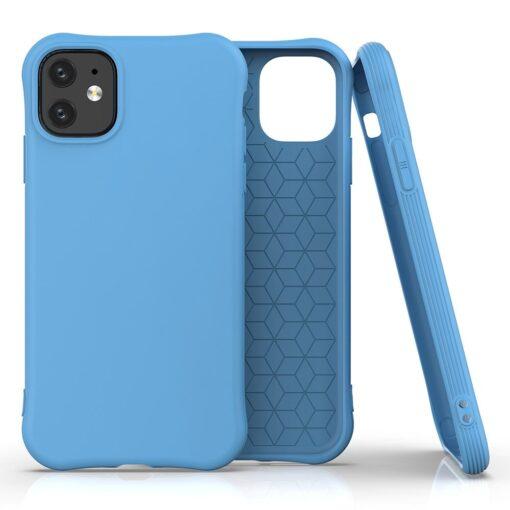 iPhone 11 kaitseümbris silikoonist sinist värvi tugev 1