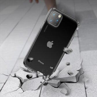 iPhone 11 silikoonist ümbris läbipaistev Airbags Baseus 1