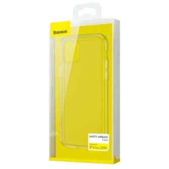 iPhone 11 silikoonist ümbris läbipaistev Airbags Baseus 5