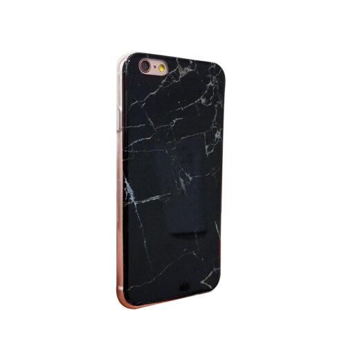 iPhone 6 marmori imitatsiooniga ümbris must